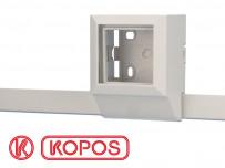 Moulure électrique PVC 32 x 15 mm