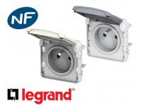 Prise de courant 16A 2P+T Legrand Plexo™ composable