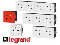 Prise électrique Legrand Mosaic composable