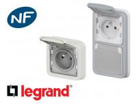 Prise de courant 16A 2P+T Legrand Plexo™ a encastrer