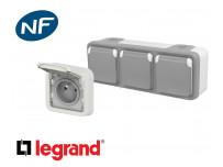 Prise de courant 16A 2P+T Legrand Plexo™ étanche