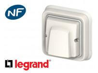 Sortie de câble Legrand Plexo™ blanche encastrée