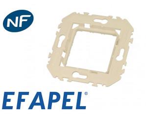 Cadre support pour appareillage Efapel 45x45
