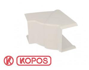 Angle intérieur pour goulotte PVC blanc 60 x 40 mm KOPOS