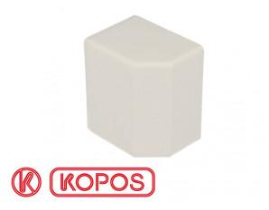 Embout pour goulotte PVC blanc 60 x 40 mm KOPOS