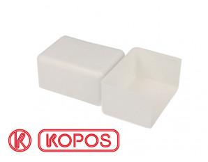 Embout pour goulotte PVC blanc 80 x 40 mm KOPOS
