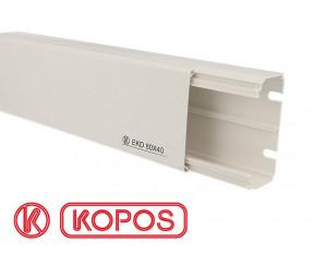 Goulotte PVC 80 x 40 mm