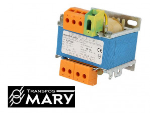 Transformateur industriel 40VA, Primaire 230-400V - Secondaire 2x115V