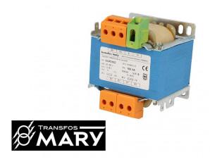 Transformateur de sécurité 100VA, Primaire 230-400V - Secondaire 24-48V
