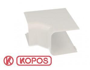 Angle intérieur pour goulotte PVC blanc 60 x 60 mm KOPOS