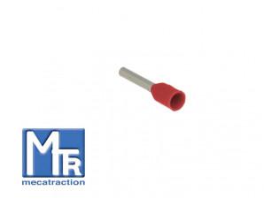 Embout pour fil souple 1mm² - sachet de 100