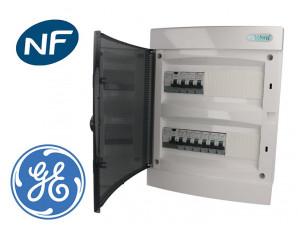 Tableau électrique Pré-équipé encastrable (appareillage GE 3kA)