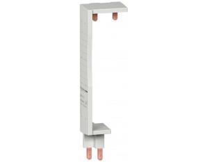 Peigne vertical pour inter diff 2P Schneider DuoLine XP entraxe 125mm