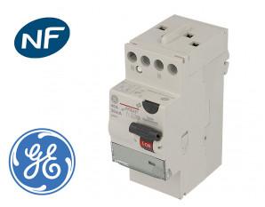 Interrupteur Différentiel 40A / 30mA / type A GE a bornes étagées