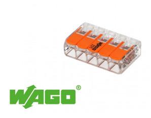 25 mini connecteur 5 entrées pour fil souple ou rigide