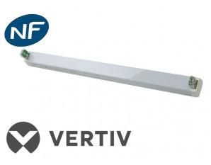 Réglette pour tube fluorescent sur source centrale