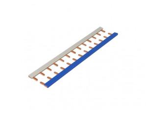 Peignes 13 modules (1 bleu+1 gris) pour modulaire GE à vis