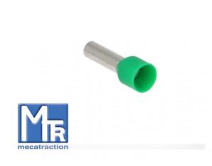 Embout pour fil souple 6mm² - sachet de 100