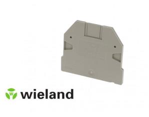 Plaque d'extrémité pour borne Wieland 4 à 10mm²