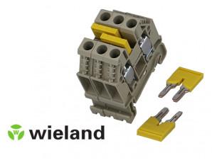 Pontet de liaison pour borne de jonction Wieland 4mm²
