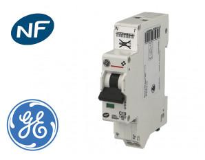 Disjoncteur modulaire automatique phase neutre 20A - 4.5kA