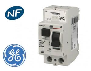 Interrupteur Différentiel 2P 40A / 30mA / type AC à bornes automatiques