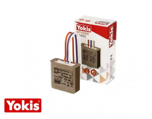 Micromodule télévariateur encastrable 500W Yokis