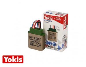 Micromodule télévariateur temporisé encastrable 500W Yokis