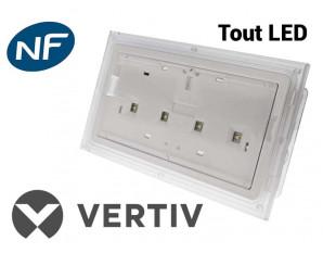 Luminaire sur Source Centrale antipanique ambiance IP65