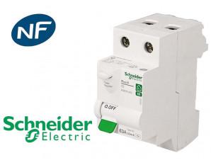Interrupteur différentiel 2P 63A 30mA Type AC Schneider Resi9 XE