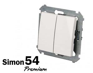 Poussoir double Simon Premium