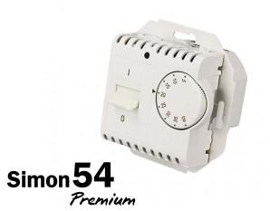 Thermostat de chauffage Simon Premium