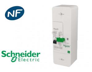 Disjoncteur EDF monophasé sélectif 15/45A Schneider Resi9