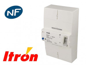 Disjoncteur EDF triphasé instantané et sélectif Itron Actaris