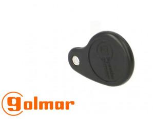 Badge de proximité noir GOLMAR Interphonie