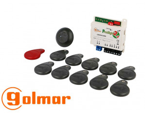 Kit complet badge VIGIK GOLMAR Interphonie