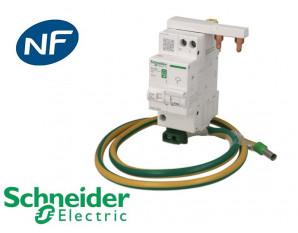 Parafoudre modulaire monophasé Schneider Electric Resi9