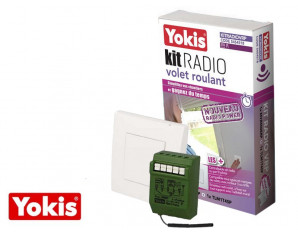 Kit radio volet roulant POWER Yokis
