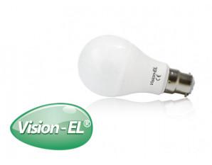 Ampoule LED B22 baïonnette 10W blanc chaud