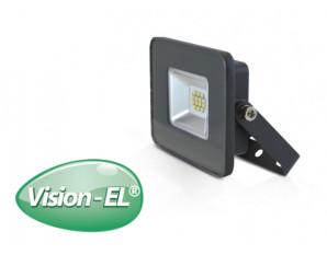 Projecteur LED 10W gris étanche blanc naturel