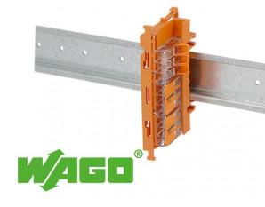Support de fixation borne Wago gamme 221-6