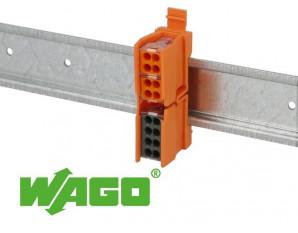Support de fixation borne wago