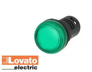 Voyant lumineux à LED, Vert (230V)