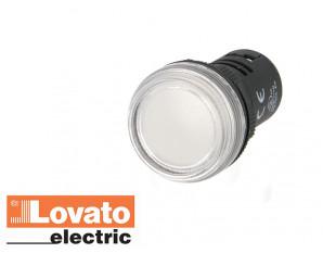 Voyant lumineux à LED, blanc (230V)