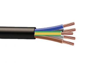 Cable RO2V 5G6mm² à la coupe (minimum 10m)