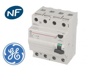 Interrupteur Différentiel triphasé 63A / 30mA / type AC