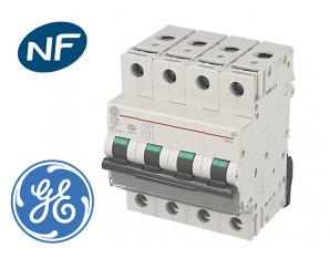 Disjoncteur modulaire tetrapolaire General Electric