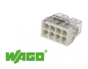 50 bornes WAGO ultracompacte 8 entrées (gris)