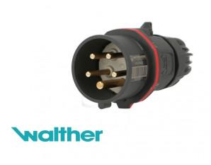Walther CEE prise murale 5x16 A IP 44 400 V Extérieur Prise de courant avec Couvercle Pliante