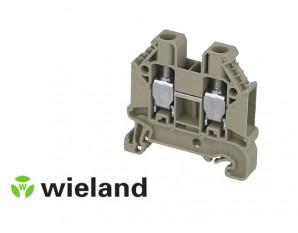 Borne de jonction A VIS. 10mm² - GRISE